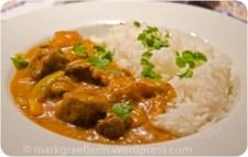 Kartoffel-Lamm-Curry mit Kokosmilch