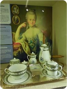 Das Kakao Geschirr von Marie Antoinette