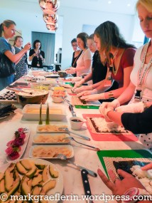 Sushi rollen mit Reisfit
