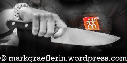 Das Messer richtig halten