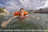 Basler Rheinschwimmen 18. August 2015