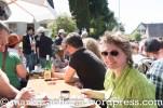 Kaffeepause bei der Straußwirtschaft Männlin in Bamlach...