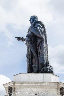 Standbild von König Stamislaus