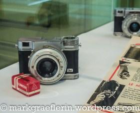 Eine der ersten Kompaktkameras