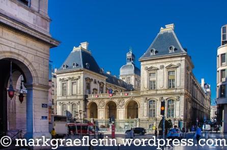 Das Rathaus von Lyon, Rückseite