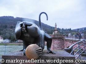 Heidelberger Brückenaff'