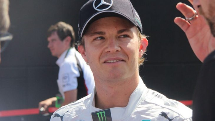 Nico Rosberg at the 2014 German Grand Prix