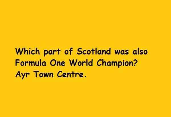 Scotland Ayr Town Centre