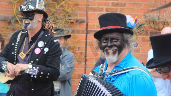 Morris Dancing at Moira Canal Festival