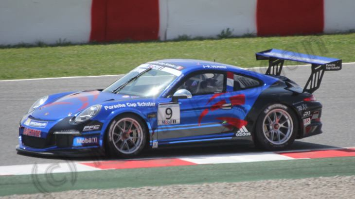 The Porsche Supercup at the 2013 Spanish Grand Prix