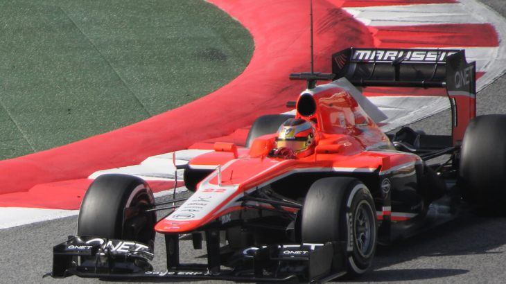 Jules Bianchi in 2013 Winter Testing