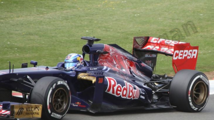 Jean-Eric Verne in qualifying for the 2013 British Grand Prix