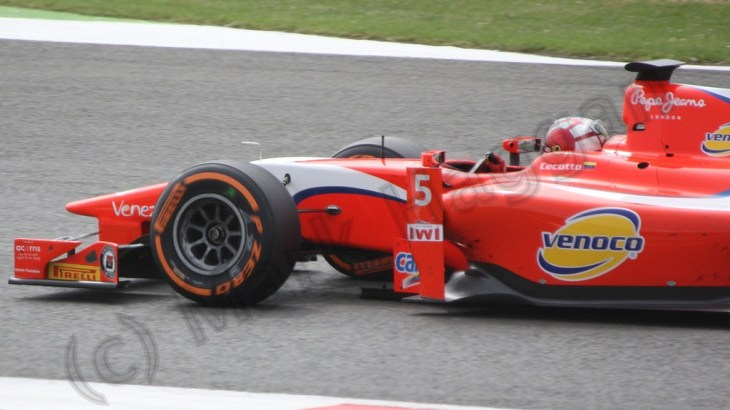 First GP2 race at the 2013 British Grand Prix