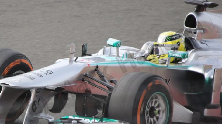 Nico Rosberg in Free Practice 3 for the 2013 British Grand Prix