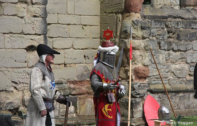 Knights at Ashby de la Zouch Castle
