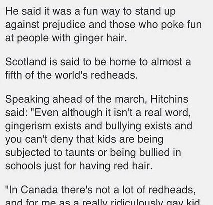 The Ginger Population of Scotland