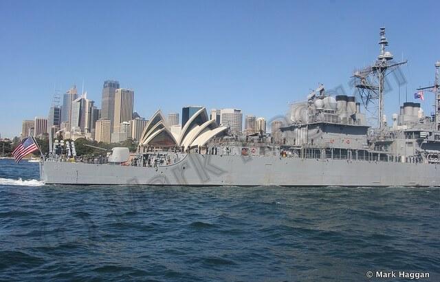 Navy Ships at the International Fleet Review