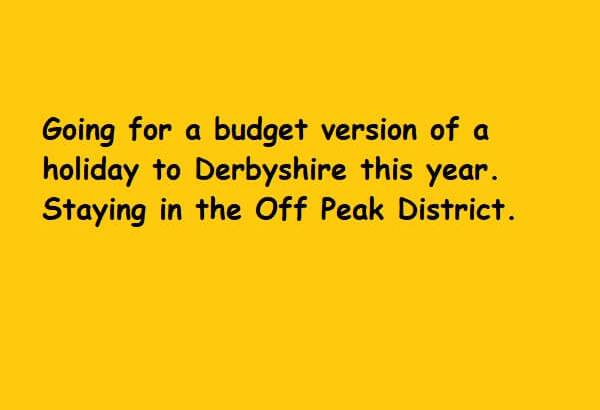 Off Peak District