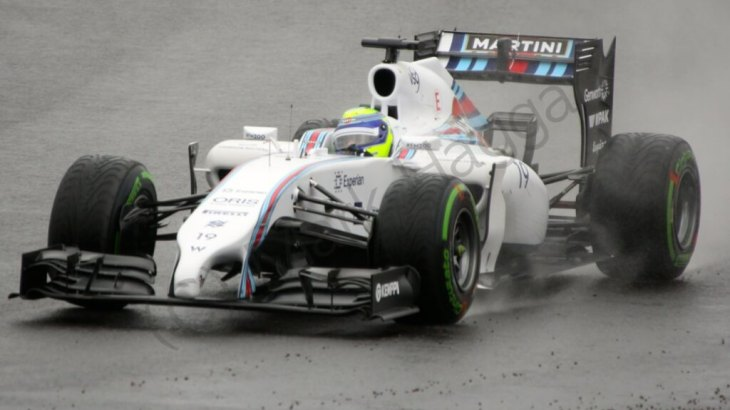 Felipe Massa in Free Practice 3 for the 2014 British Grand Prix