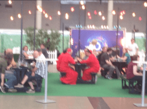 A poor shot of the Spanish Inquisition