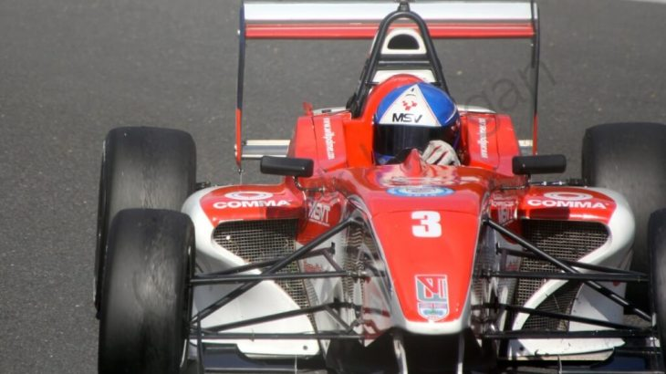 Will Palmer in BRDC F4 at Brands Hatch