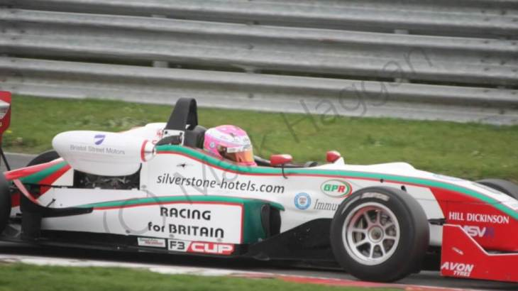 Alice Powell in the F3 Cup