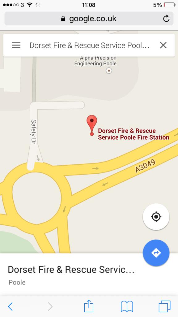 Apt Street Names: Safety Drive