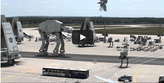 The Star Wars airport