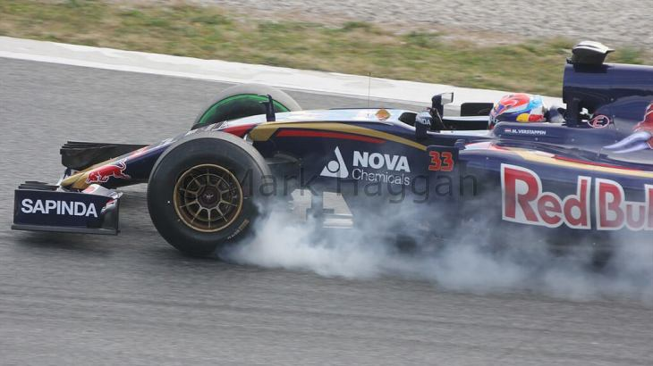 Max Verstappen in Formula One Winter Testing, 2015