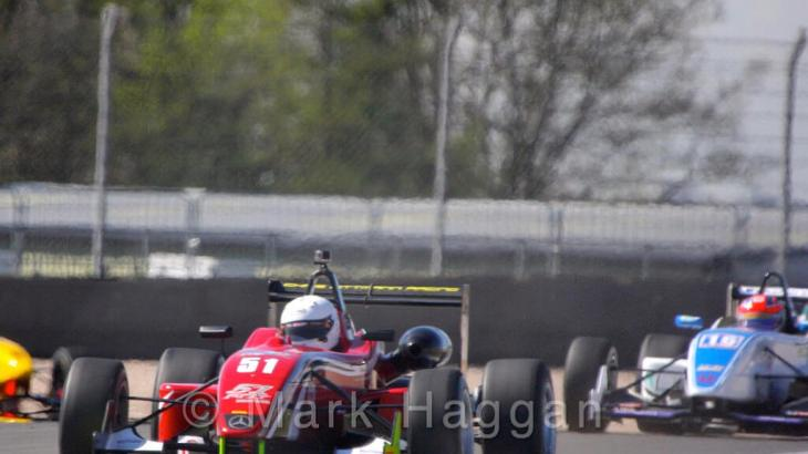 Kieran Vernon in the F3 Cup at Donington Park