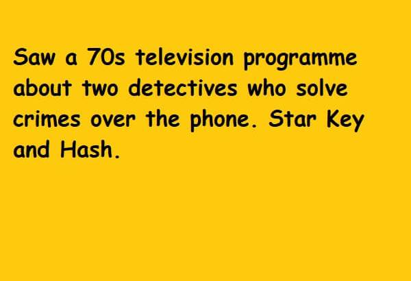 star key and hash