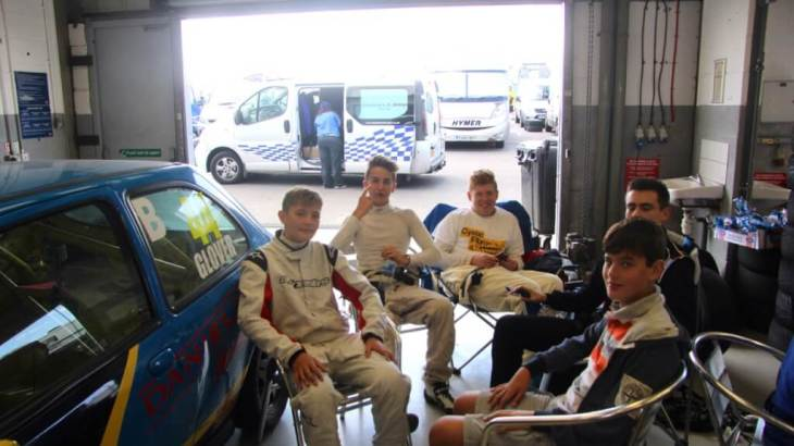 The Fiesta Junior drivers