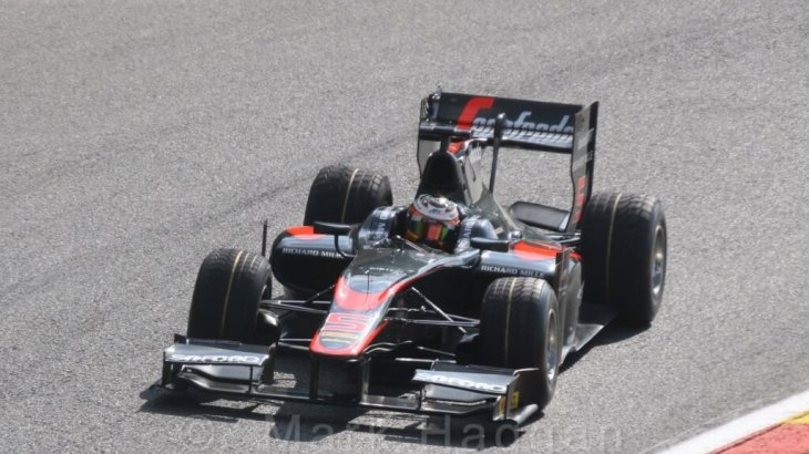 Stoffel Vandoorne in GP2 at Spa 2015