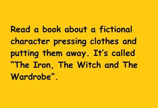 iron witch wardrobe