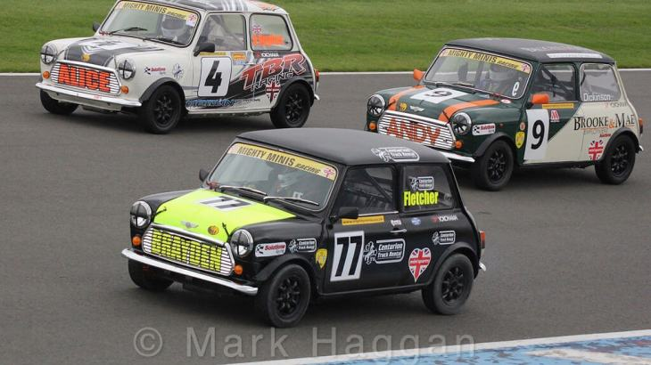 The Mighty Minis at Donington Park, October 2015