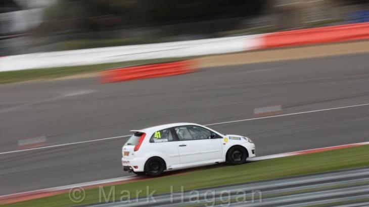 Aaron Thompson at Silverstone
