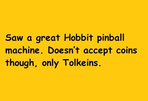 Doesn't accept coins though, only Tolkeins