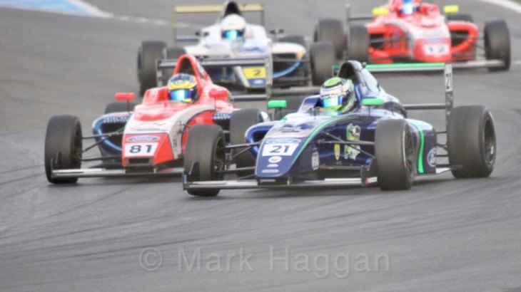 British F4 2017 Donington Park
