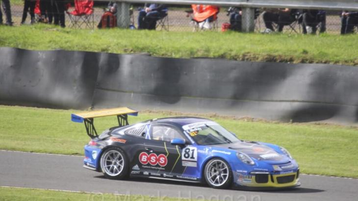 Porsches at Knockhill 2017