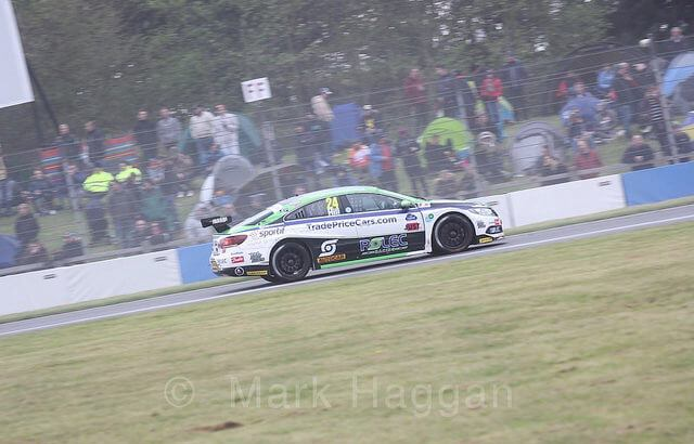 Jake Hill at Donington Park in BTCC 2018