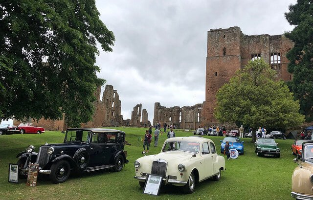 British Classic Cars at Kenilworth Castle