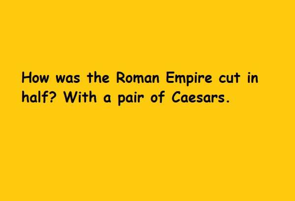 pair of Caesars