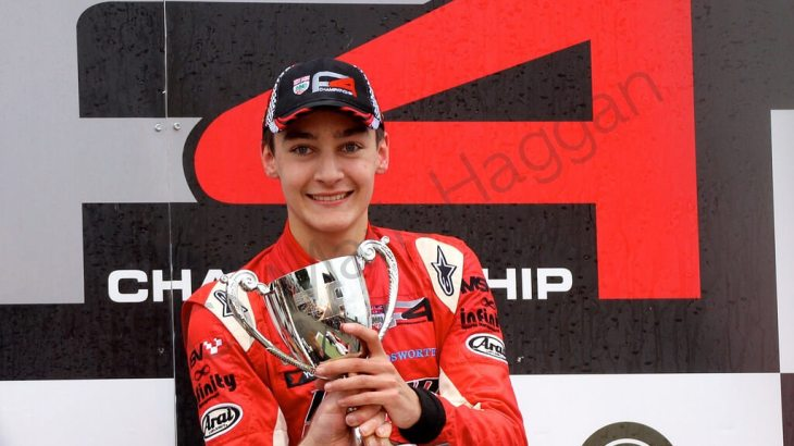 George Russell takes the British F4 title in 2014