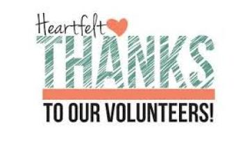 Image result for Thank you volunteer