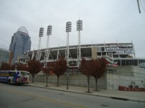 That's where the Reds play.