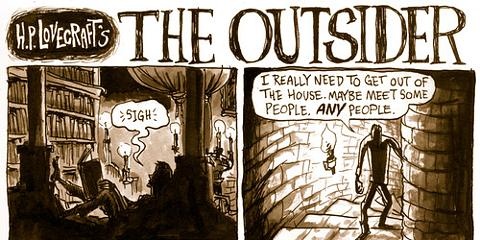 The Outsider The Complete Lovecraft30 The Passing Place