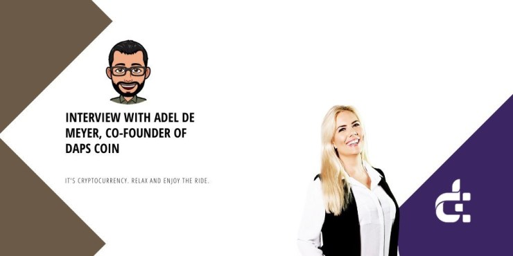 Banner with Mark Helfman bitmoji, Adel profile picture, and DAPS logo