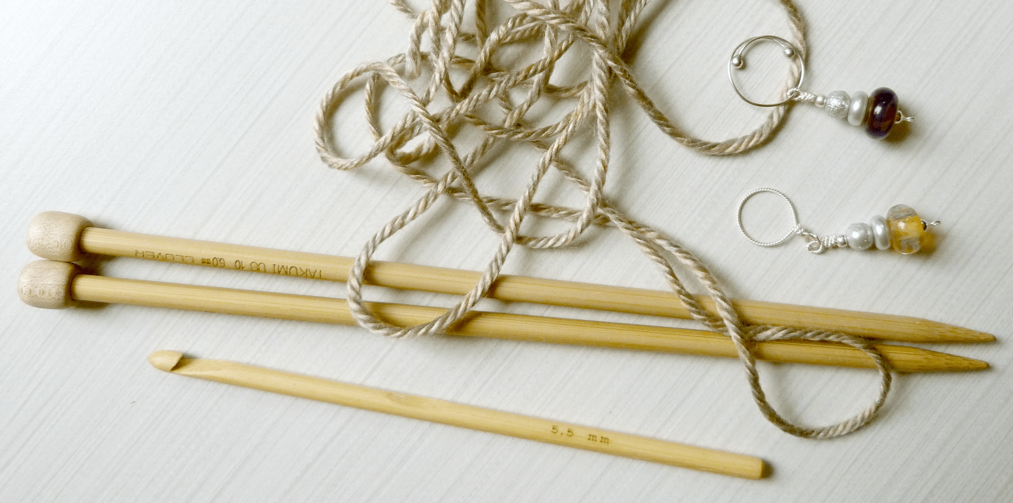Knit and Crochet Supplies for Beginners