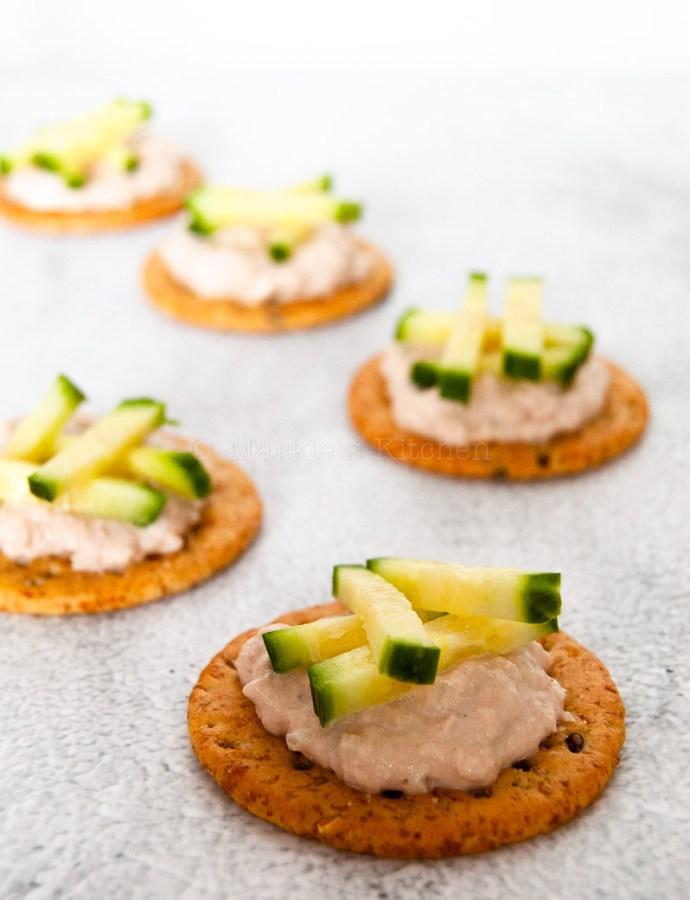 Quick tuna spread