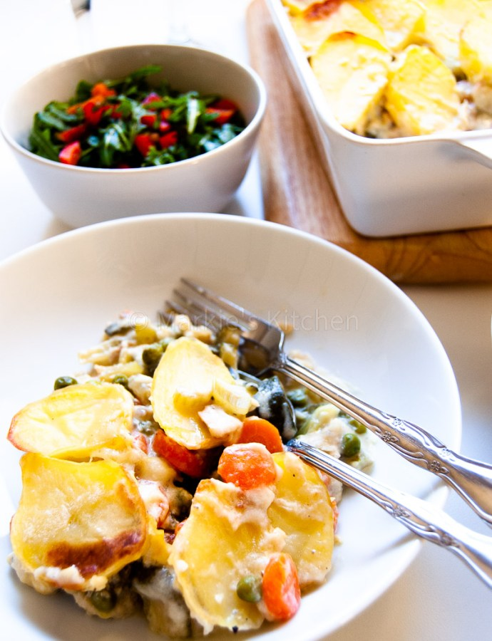 Fish and vegetable pie – Light and delicious dinner